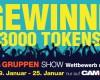 Neuer Wettbewerb GRUPPEN SHOWS 19.01. - 25.01.2015