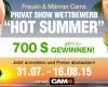 ☀ HOT SUMMER ☀ CAM4 Privat Shows - Mitmachen und 700 $ Gewinnen!