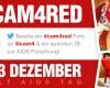 Sexy in Rot: Tweete ein #cam4red Foto zum Welt AIDS Tag
