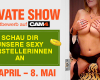Besuche jetzt unsere Teilnehmer/innen am Private Show Wettbewerb April/Mai