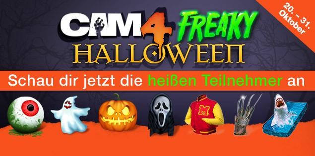 Schau dir die heißen Teilnehmer vom Freaky Halloween Geschenke Wettbewerb an