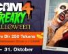 Sende eine Halloween Cam Show und verdiene $25!