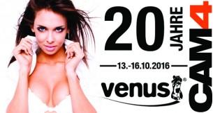 CAM4 ist auf der Venus 2016 – Hol dir einen Selfie Stick