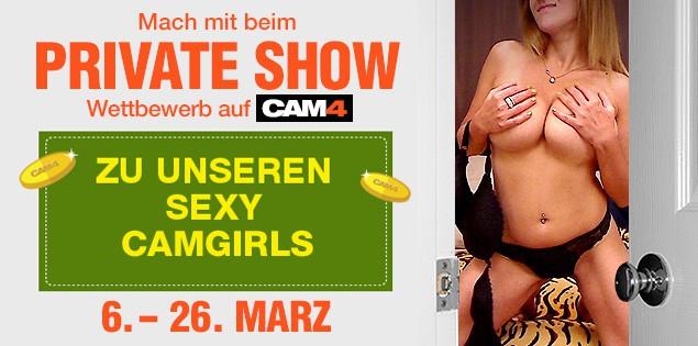 Diese 20+ heißen Camgirls cammen beim Private Show Wettbewerb um die Wette