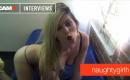 Interview mit der blonden Sexbombe Naughtygirlh
