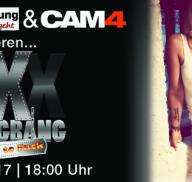 Am 13.06. zeigen wir den XXXGangBang aus der Erlebniswohnung Berlin (Live)