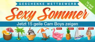 Diese 15+ heißen Summer Cam Boys  freuen sich über dein Sommergeschenk