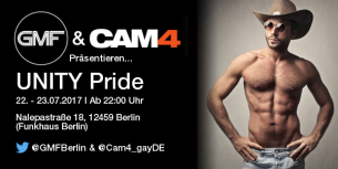 Komm mit uns zur CSD Closing Party in Berlin (22. – 23.07.2017)