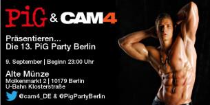 Gay Fetisch Event – Komm Mit Uns Zur 13. Pig Party In Berlin (Samstag, den 9.9.)