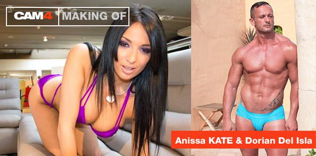 Live Porno Dreh Mit Anissa Kate & Dorian Del Isla