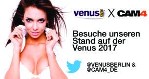 CAM4 auf der Venus 2017 – Besuche unseren Stand!