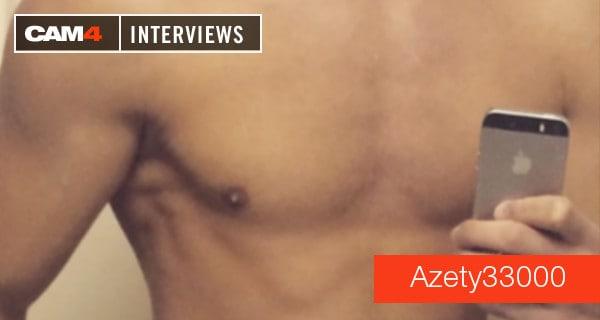 Hot Camboy Azety33000 im Interview