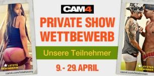 Besuche unsere Teilnehmer des Private Show Wettbewerbs