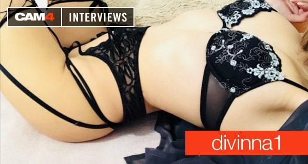 Geiles Interview mit dem Live Camgirl divinna1!
