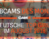 Top 5 Camgirls des Monats - August!