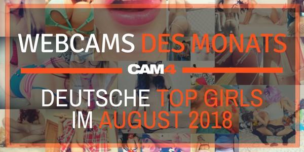 Top 5 Camgirls des Monats – August!
