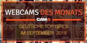 Top 5 Camgirls des Monats – September!