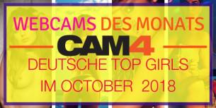 Top 5 Deutsche Camgirls des Monats – Oktober!