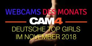 Top 5 Camgirls des Monats – November!