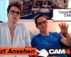 Unanständiges Webcam-Pärchen