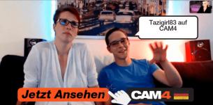 """Unanständiges Webcam-Pärchen """"Tazigirl83″ im Interview"""