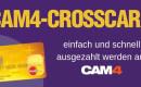 Beantrage jetzt eine CAM4-Crosscard für eine einfachere Auszahlung und sichere dir bis Ende August 250 Bonus-Tokens!