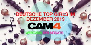 Unsere TOP5 Camgirls im Dezember 2019